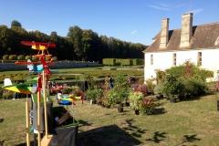 Jardin d'automne Jardins divers au Domaine de Villarceaux (95)