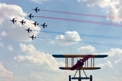 Epern'Air Show meeting Patrouille de France Aérodrome d'EPERNAY-PLIVOT(51)