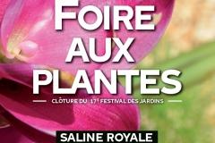 Foire au plantes et fête de clôture du Festival des Jardins - Saline Royale d'Arc-et-Senans
