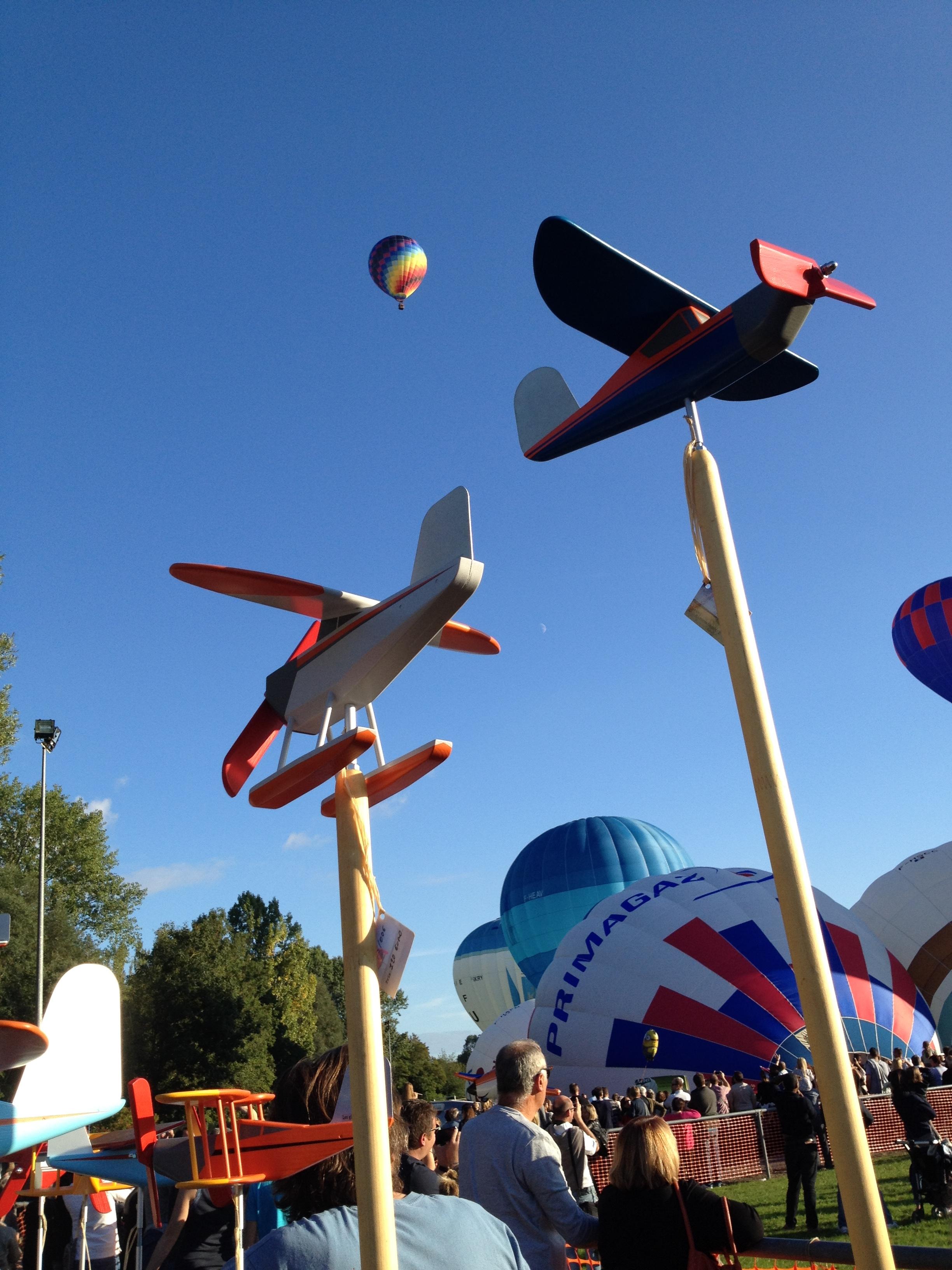 Les montgolfiades - WARMERIVILLE (51)