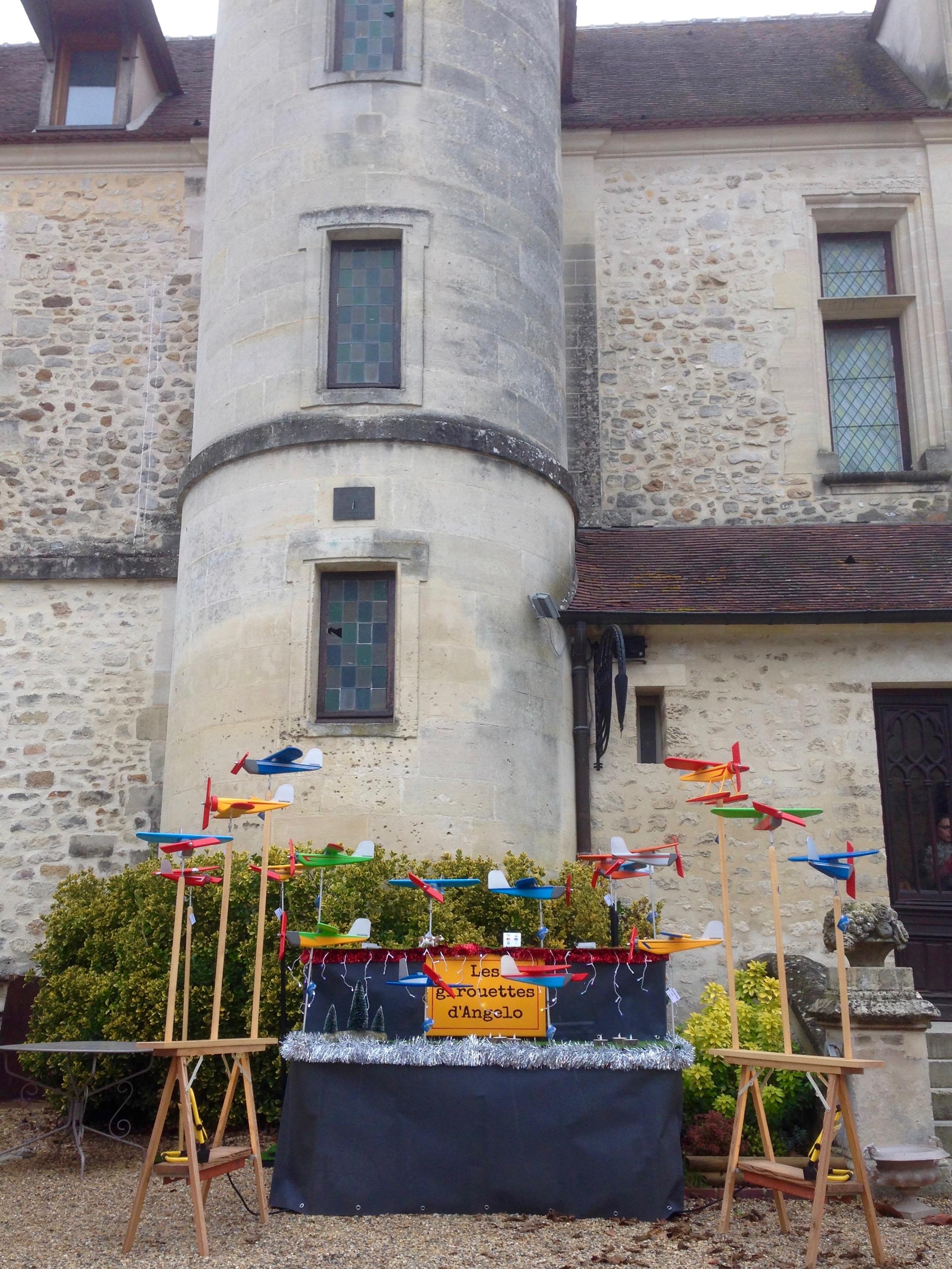 Marché de Noël au château de Pontarmé (60)