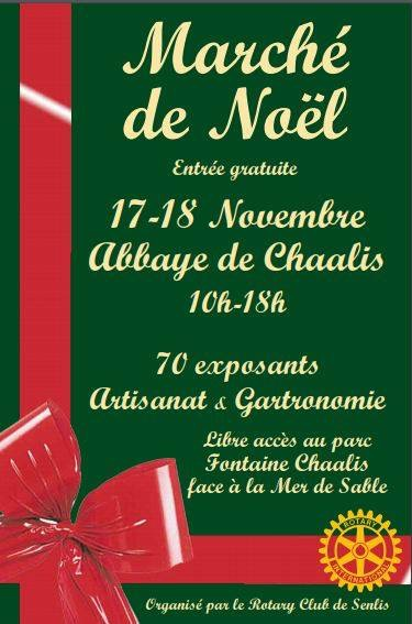 Marché de Noël - Abbaye de CHAALIS