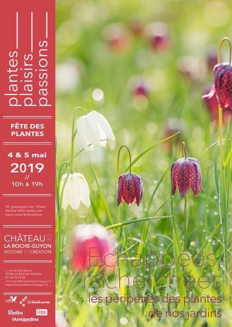 Plantes Plaisirs Passions - Château de LA ROCHE-GUYON