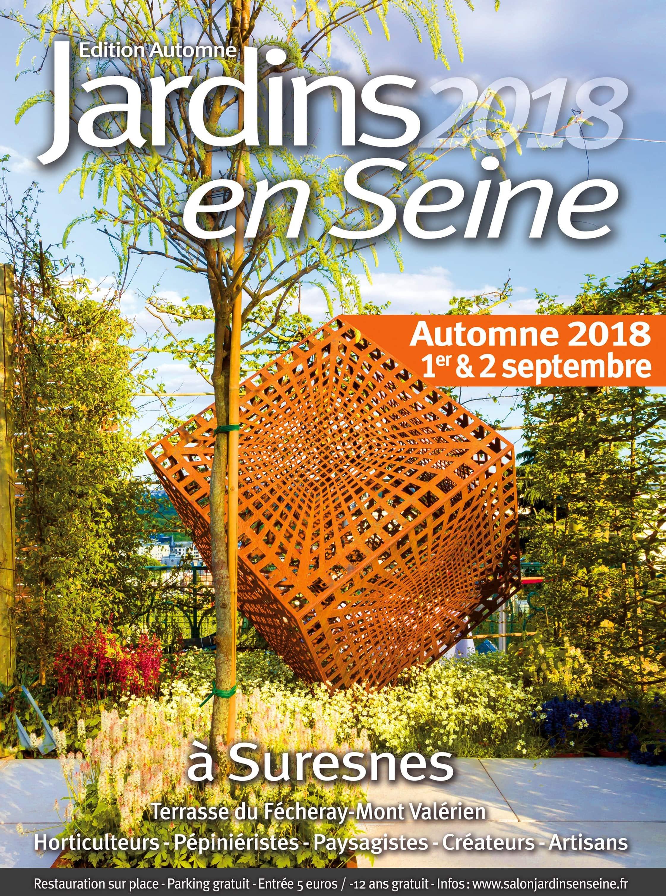Jardins en Seine 2018 édition d'automne - Terrasses du Fécheray au pied du Mont-Valérien - SURESNES