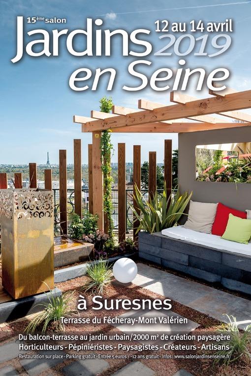 Jardins en Seine 2019 - Terrasses du Fécheray au pied du Mont-Valérien - SURESNES