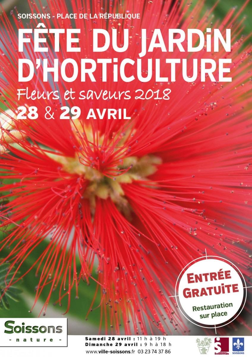 Fête du jardin d'horticulture - SOISSONS