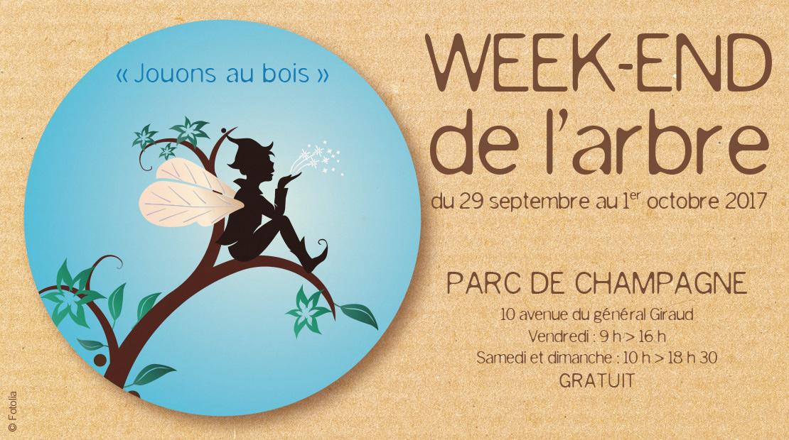 Week-end de l'arbre - Parc de Champagne REIMS