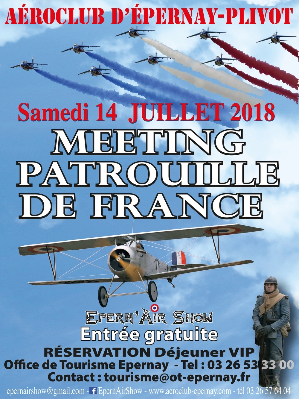 Epern'Air Show – Aérodrome d'EPERNAY-PLIVOT