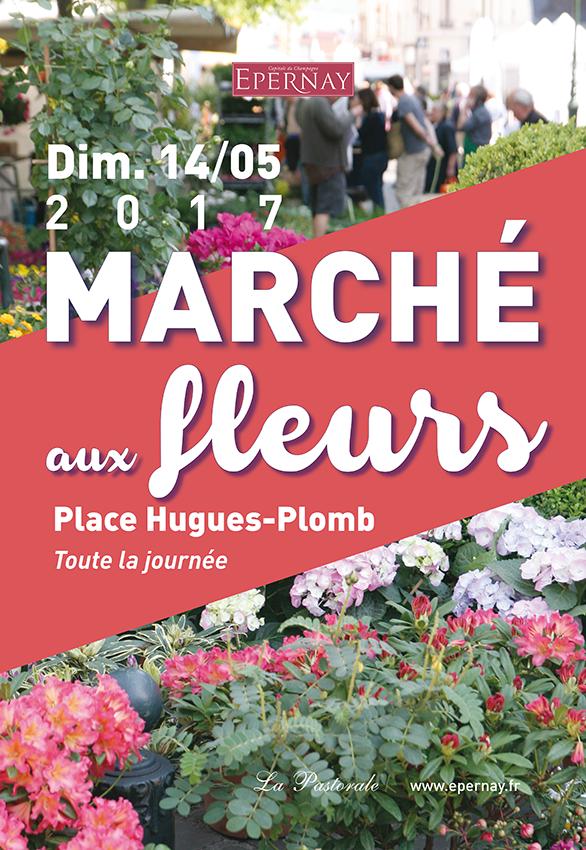 Marché aux fleurs - EPERNAY